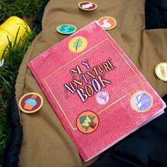 Adventure book & badges printable