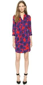 DVF Freya Wrap dress