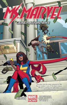 Review: Ms Marvel Volume 2: Generation Why