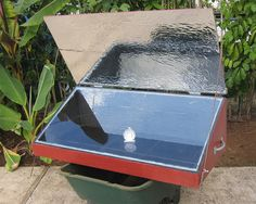 Solar oven with better reflector by EBKauai, via Flickr