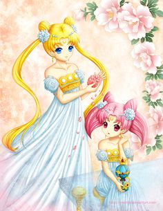 Princesses of the Moon by Eranthe on deviantART