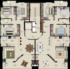 apartamento alto padrao planta에 대한 이미지 검색결과