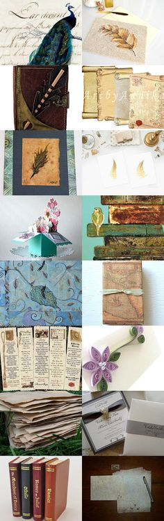 PAPER PERFECT! by RosaLinda Buchner Graziano on Etsy--Pinned with TreasuryPin.com