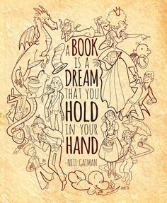 A book is a dream...