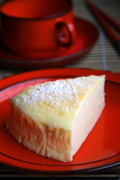 Japanischer Soufflé Käsekuchen