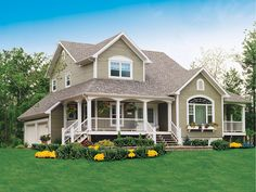 Country charm and great landscaping! - plan 032D-0341 - houseplansandmore.com