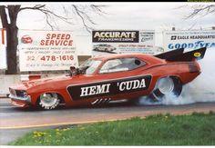 Hemi Cuda Funny car
