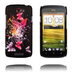 Valentine (Rosa Fjärilar i Natten) HTC One S Skal
