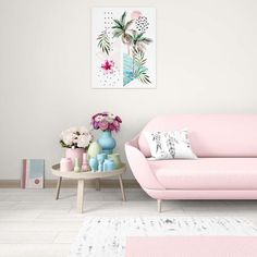 Living room decor ideas with wondering pastel colours