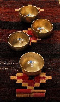 Singing bowls at Serai