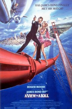 1985 - A View to a Kill met Roger Moore