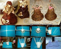 (6) Снимки в дневника Holiday Crafts, Christmas Crafts, Christmas Decorations, Christmas Ornaments, Paper Weaving, Weaving Art, Handmade Crafts, Diy Crafts, Straw Crafts