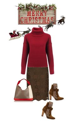 """""""Merry xmas"""" by noconfessions ❤ liked on Polyvore featuring N°21, Ulla Johnson, Nearly Natural and Marni"""