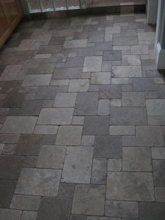 Great floor for a hallway or kitchen.