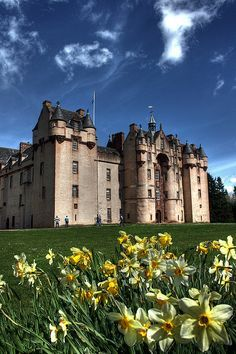 Fyvie Castle, Aberdeenshire, Scotland
