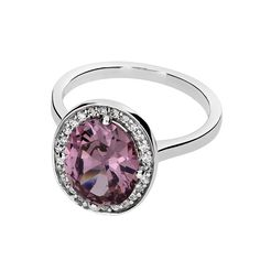 Carousel Rose Cubic Zirconia Ring #Ring #CocktailRing #Stone #Silver #SilverRing #Jewellery