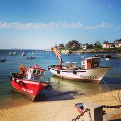 A Illa de Arousa in Pontevedra, Galicia
