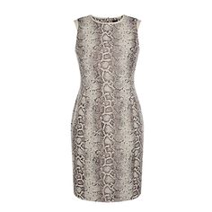 David Lawrence Snake Jacquard Bodycon Dress, $269