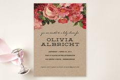 The Porch Baby Shower Invitations by Susan Brown at minted.com