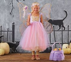 Butterfly Fairy Costume, 7-8 Lavender