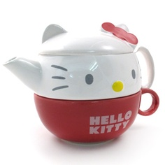 #HelloKitty stacking mug and pot