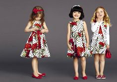 dolce and gabbana summer 2015 child collection 10