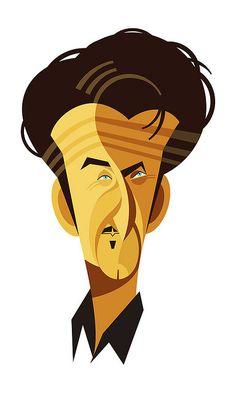 Sean Penn, by Fabio Corazza.