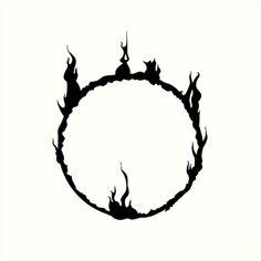 Black version of the in-game symbol Tattoo Geek, Soul Tattoo, Gaming Tattoo, Dark Tattoo, Tattoo Drawings, Body Art Tattoos, Sleeve Tattoos, Dark Sigil, Symbole Tattoo