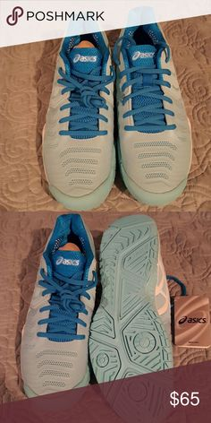 NWT ASICS WOMENS TENNIS SHOES These were a PM purchase that I ve never worn 69a4473b0