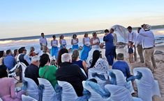 Beach atmosphere creates a romantic mood to the couple. To make your big day unique and memorable, choose as a Wedding Venues Beach, Romantic Mood, Big Day, How To Memorize Things, Make It Yourself, Bride, Couples, Unique, How To Make