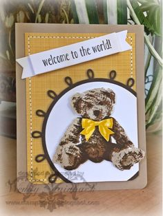 Stamp 2 Create: Baby Bear!