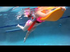 How to Do Water Aerobics Flutter Kicking | Water Aerobic Exercise