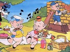 os tres porquinhos Winnie Poo, Three Little Pigs, My Little Girl, Disney Cartoons, Wallpaper, Storytelling, Comic Art, Peanuts Comics, Disney Characters