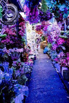 Purple Market Bangkok, Thailand