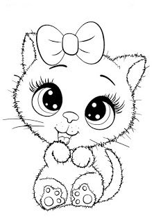 Cuties Coloring Pages for Kids – Free Preschool Printables – Slatkice Bojanke – Cute Animal Coloring Books by BonTon TV