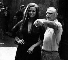 Mario Monicelli e Claudia Cardinale