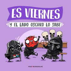 Es viernea Funny Phrases, Love Phrases, Smile Club, Star Wars Pictures, Funny Sites, Mr Wonderful, Star Wars Party, More Than Words, Good Morning Quotes