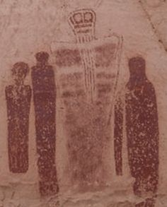 A TARDIS in a 7000 year old painting… in Utah: