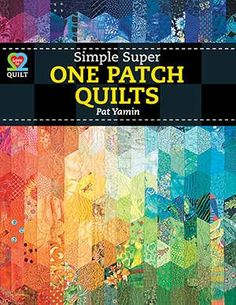 Susie Andersen's Half Hex quilt on the cover of this new book from AQS!!!!