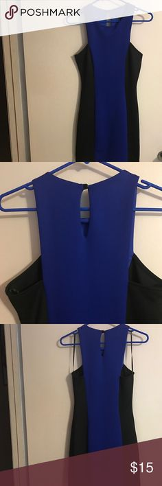 Dress Girls night out dress! The black on the sides shapes your body shows smaller waist. Forever 21 Dresses Mini