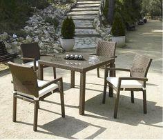 Mesa terraza y jardín Java #Ambar #Muebles #Deco #Interiorismo #Jardin | http://www.ambar-muebles.com/mesa-terraza-y-jardin-java.html