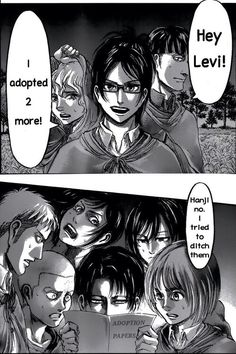 Lmao! There's nothing you can do Levi...you might as just give up already