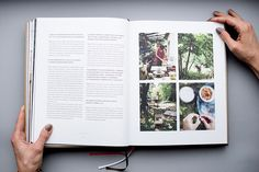 photography, art direction and graphic design of our second own cookbook