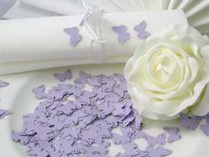 10g Streudeko Hochzeit EinsSein® Butterfly flieder Tischdeko Hochzeit ca. 160St: Amazon.de