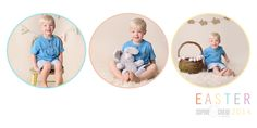 Easter photography for baby