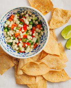 Serrano Pepper & Corn Salsa. I would add avocado to this and make it into a salad!