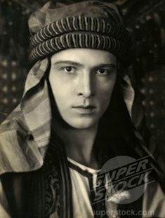 rudolph valentino | Rudolph Valentino, Silent Film Actor, (1895-1926) | Stock Photo #486 ...