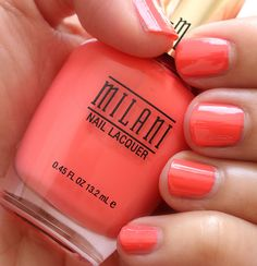 I like how dark this coral is: Milani Colorful Coral 04