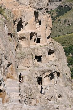 Vardzia Cave City, Republic of Georgia
