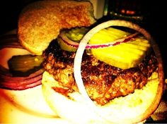 JG Melon for the burgers.